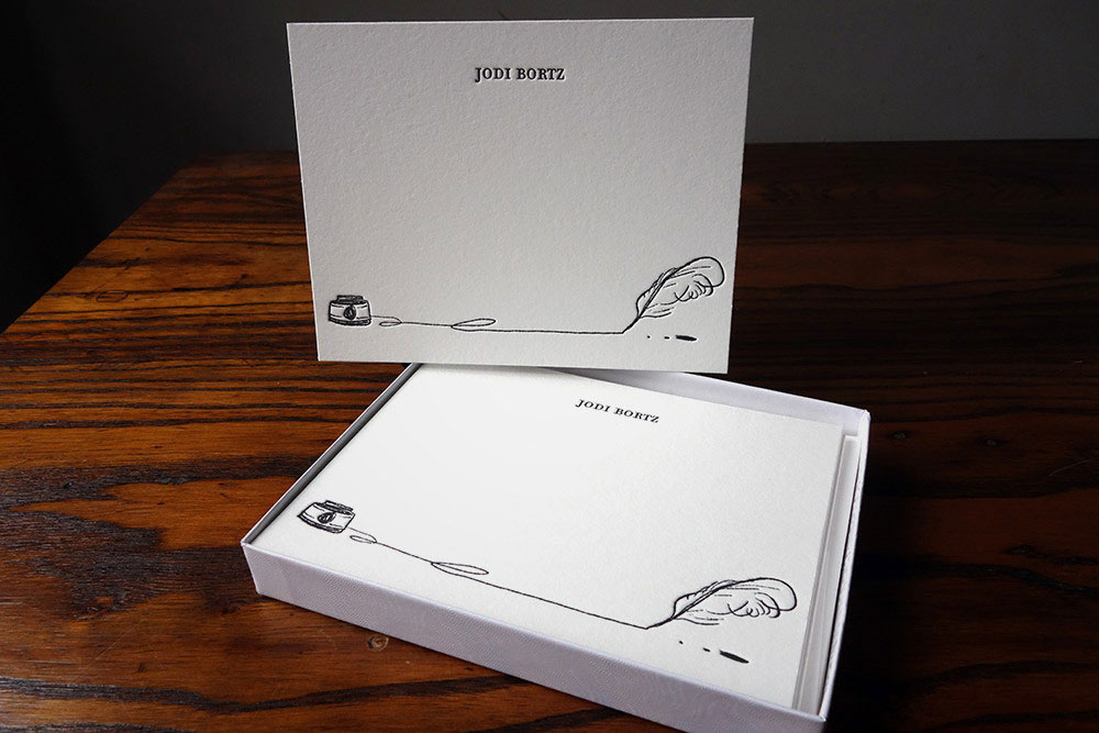 Pen and Ink Stationery Set