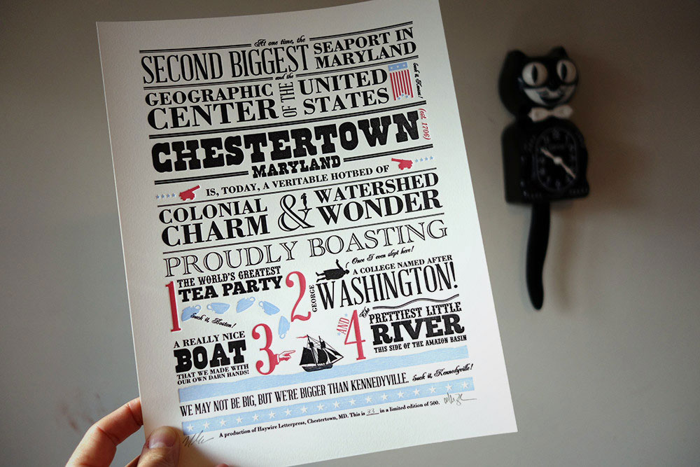 Chestertown Broadside
