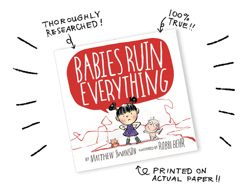 Babies Ruin Everything book cover