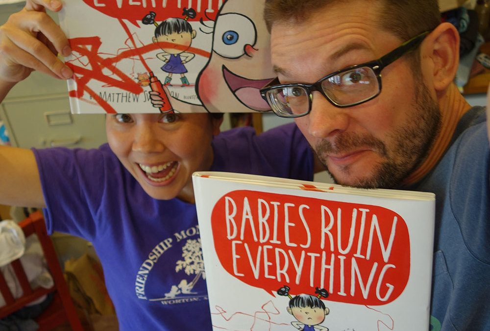 Babies Ruin Everything Advance Copies Arrive