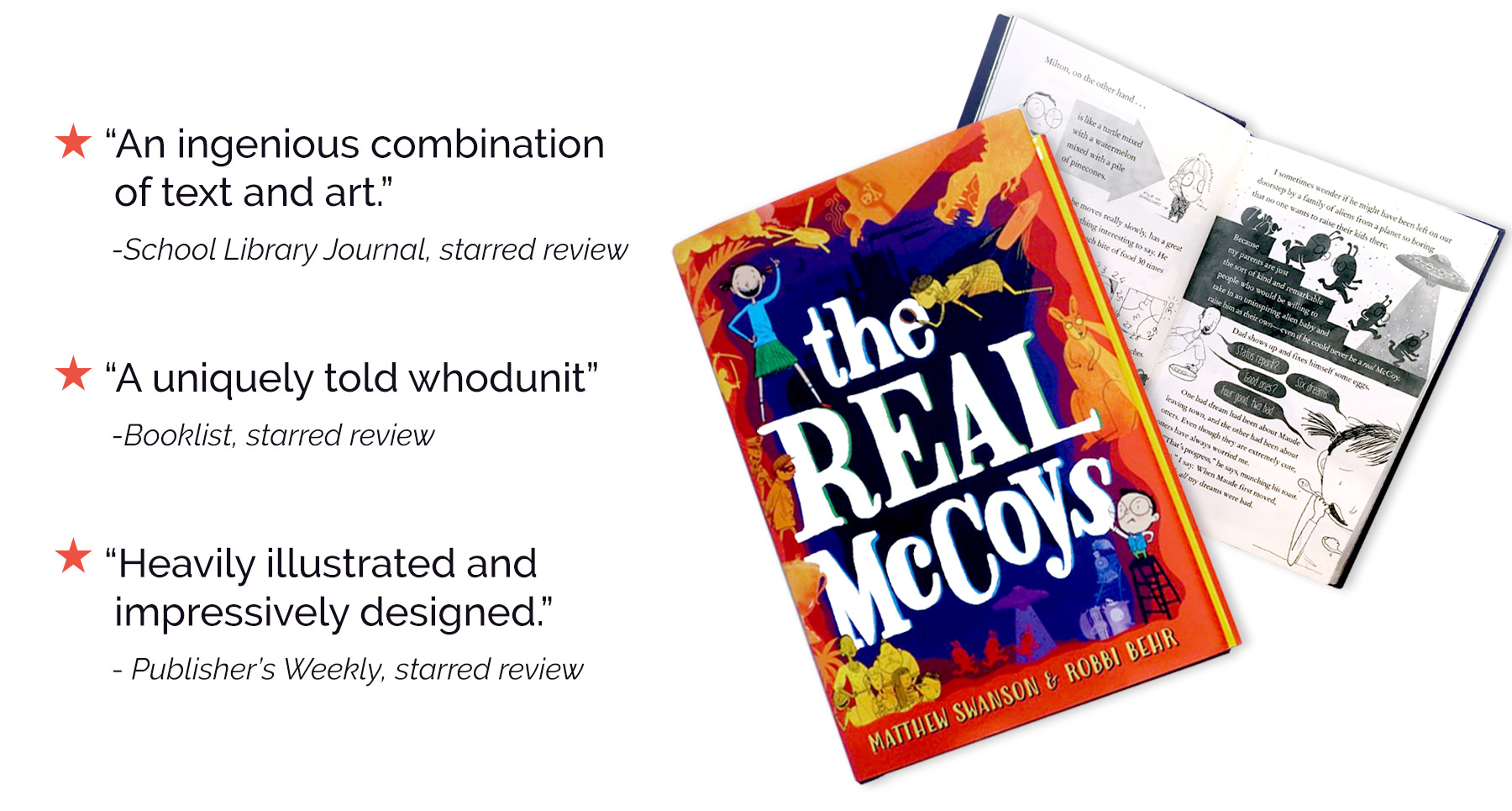 The Real McCoys Starred Reviews